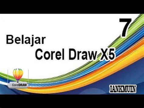 tutorial belajar corel draw x5 pdf belajar corel draw x5 part 7 logo batman youtube