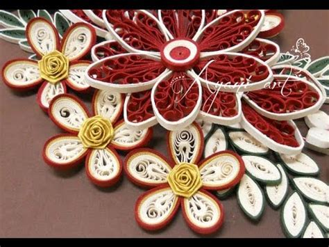quilling tutorial malaysian rose flower quilling rose flower tutorial youtube