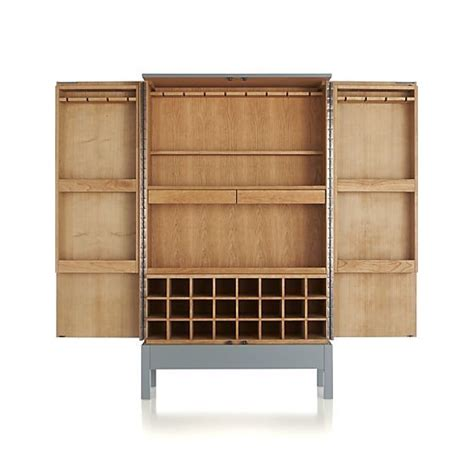 Grey Bar Cabinet Victuals Grey Bar Cabinet