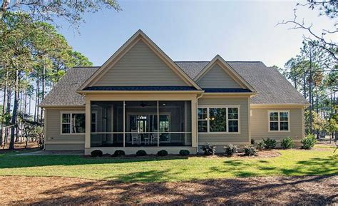 Hollowcrest House Plan Plan 1302 The Bluestone Porch And Exterior