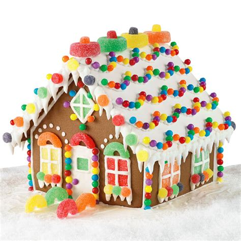 candy house candy chalet gingerbread house wilton