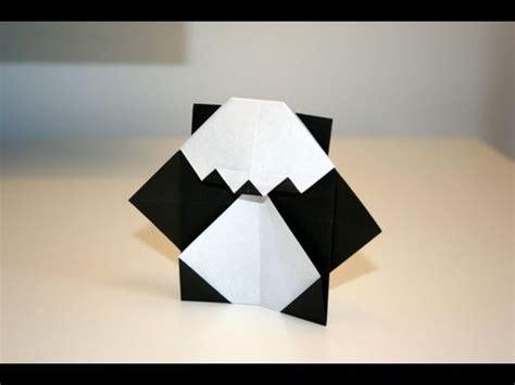 How To Make A Panda Out Of Paper - origami mini panda senbazuru