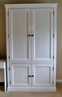 ana white build a beautiful nursery armoire diy projects