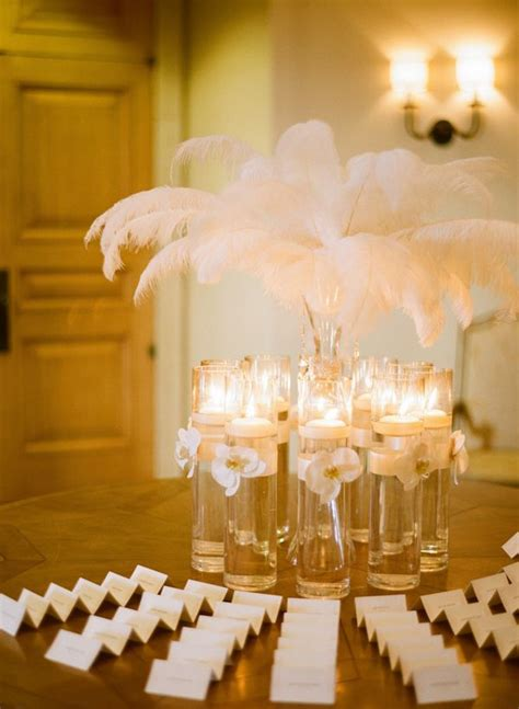 Feather Vases Weddings by 25 Best Ideas About Feather Wedding Centerpieces On Diy Wedding Centerpieces Diy