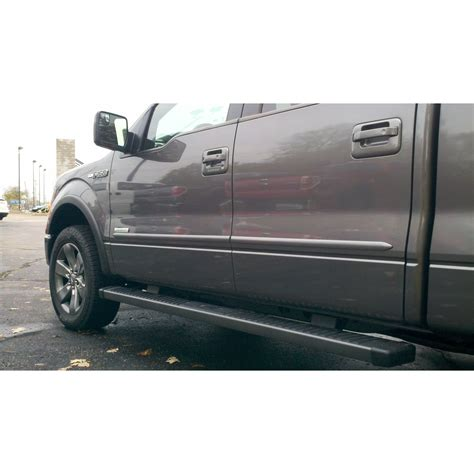 ford  super crew   painted body side moldings