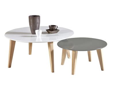Table Basse Gigogne Blanche
