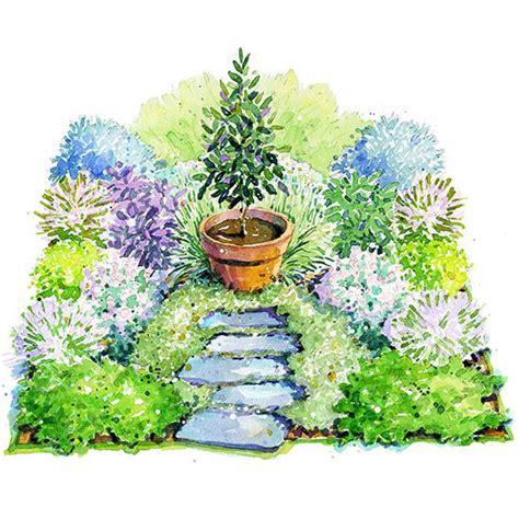 perennial herb garden layout italian herb garden plan