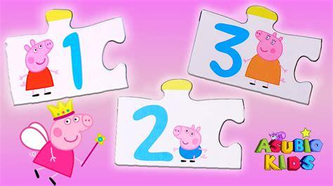 imagenes niños jugando con numeros peppa pig aprendiendo los n 218 meros aprender jugando