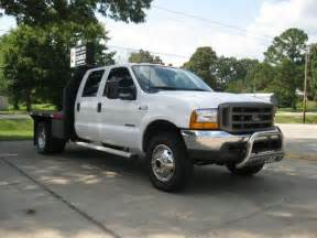 Ford F550 Flatbed Sell Used 2000 Ford F550 4x4 Crew Cab Flatbed 7 3