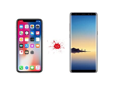 x samsung note iphone x vs galaxy note 8 apple samsung s big boys take the gloves your mobile