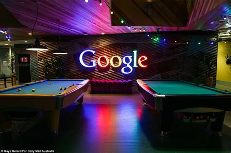 google sydney office google s sydney headquarters reveals what life is really at the internet giant daily mail online