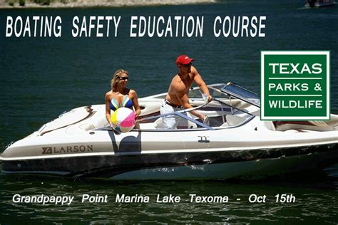 boating education course boating safety education course at grandpappy marina on
