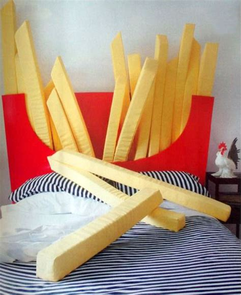 Diy Food Pillows by This Fries Bed Will Help Supersize Your Naps