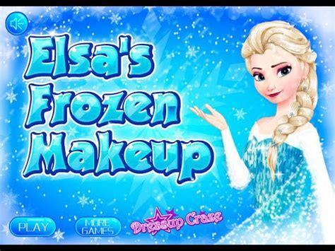 Disney Frozen Games- Elsa's Frozen Makeup- Online Fashion ... Kids Games For Girls Disney Free Online