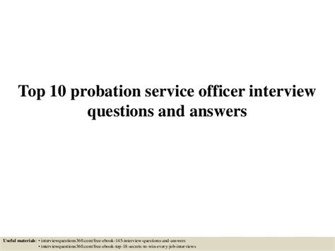 it questions answers for it interviews service provider networks quality of service qos troubleshooting router and switch interfaces volume 6 books top 10 probation service officer questions and