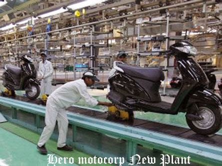 hero motocorp ap plant production to commence by dec 2018 hero motocorp is planning to start new plant