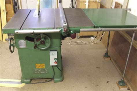 bench saws for sale wadkin bursgreen 12 ags 240 volt table saw