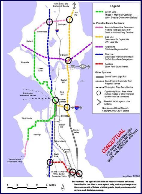 seattle map joke transit maps highway railroad major florida