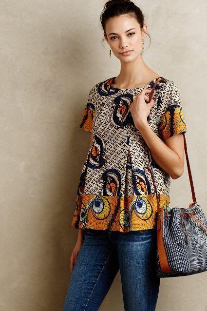 modelos de blusas de capulana e kente moda africana fotos e looks incr 237 veis