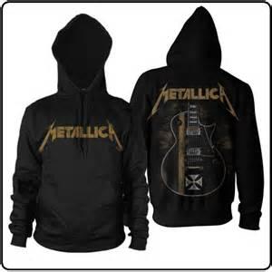 Hoodie Zipper Metalica Cloth blabbermouth hetfield guitar hoodie metallica
