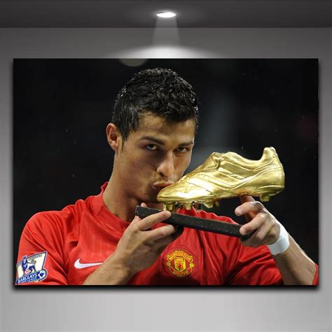 Lukisan Dinding Canvas Cristiano Ronaldo Model 1 No Frame trophy pictures reviews shopping trophy pictures reviews on aliexpress alibaba