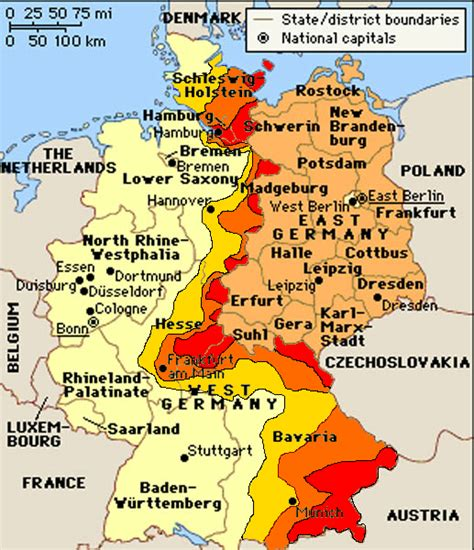 map of western germany world war 3 beginning of the end alternative history