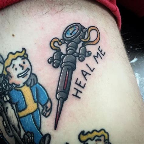 fallout tattoos 20 cool fallout designs