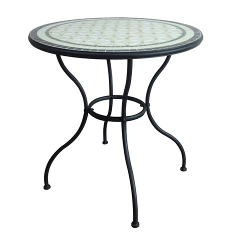 Tile Top Patio Dining Table by Additional Images