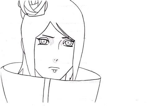 konan sketch by theflyingpug on deviantart
