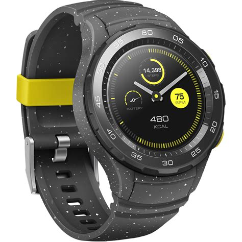 Smartwatch Huawei 2 huawei 2 sport smartwatch concrete gray 55021797 b h