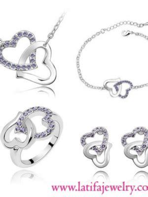 Perhiasaan Set Xuping Berlian Replika home latifa jewelry