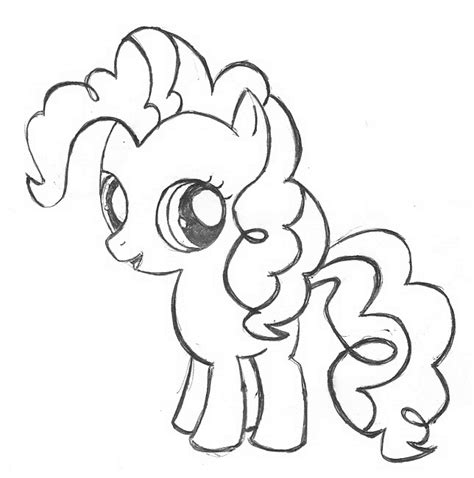 Pinkie Pie Coloring Page by Pinkie Pie Coloring Clipart Best