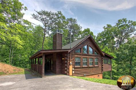 Colonial Cabins In Pigeon Forge by Comfort Smoky Mountain Dreams Cabin Resort Rentals