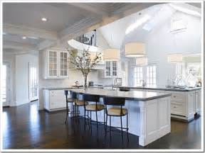 Double Kitchen Islands by Desire To Decorate Kitchens Double Islands