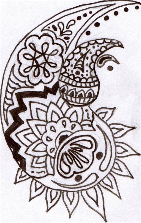 make henna tattoo traditional henna design sketches for