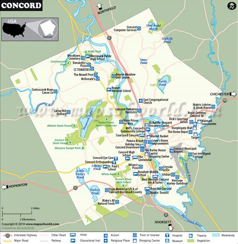 concord nh map concord map city map of concord capital of new hshire