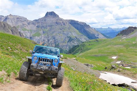 Ouray Jeep Trails Governor Basin Trail Near Ouray Co Colorado 4 Wheeling