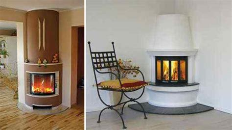 Small Fireplace Designs by Fireplaces On Small Space Saving Corner Design 001