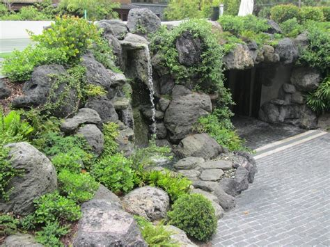Waterfalls Fountains Gardens Inc Landscape Design Volcanic Rock Garden