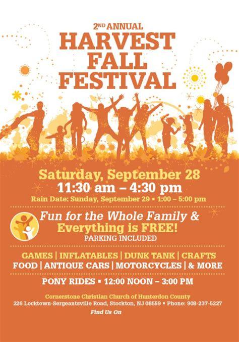 harvest fall festival