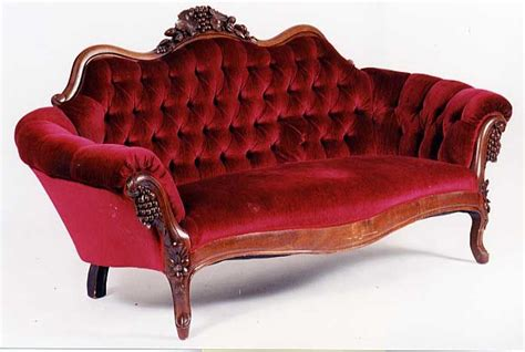red victorian couch burgundy velvet upholstery victorian settee s loveseats
