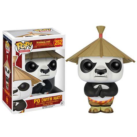 Pop Kung Fu Panda Po kung fu panda po with hat pop vinyl figure merchandise