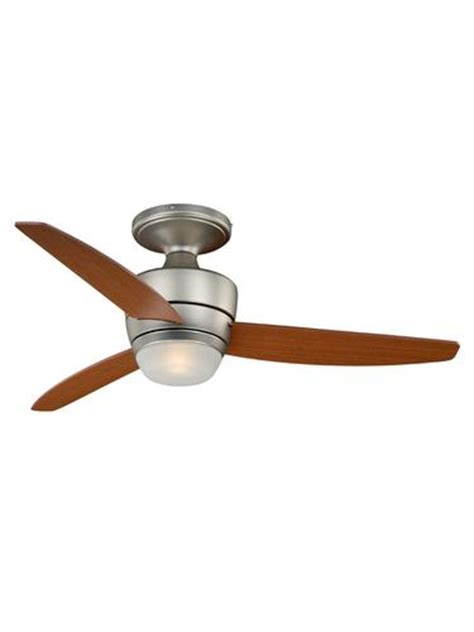 stratford ceiling fan turn of the century stratford 44 in brushed nickel