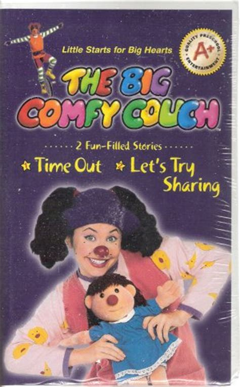 the big comfy couch vhs the big comfy couch vhs 2004 brand new time out let