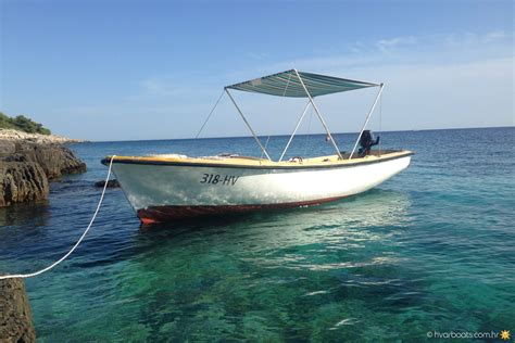 small boat for rent pasara 6hp small boats rent a boat hvarboats