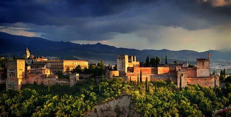andalucia roja y la 8415338600 alhambra castle in spain thousand wonders