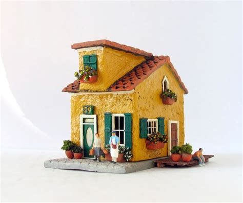 Yellow House Handmade - marigold yellow burano house summer in venice italy