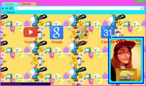 themes google chrome adventure time adventure time
