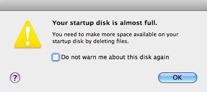 how to make room on startup disk macbook air engadget technology news advice and features