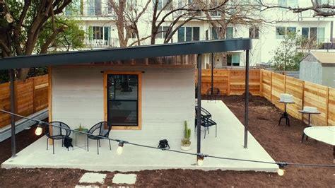 tiny houses 10000 3d printer creates 10 000 tiny house in 24 hours tiny